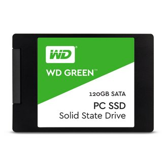 SSD Green - 120 Go SATA 3 (WDS120G2G0A)120 Go Interne SSD Serial ATA III PC 3 an(s) 430 MBps 545 MBps 32,5 g