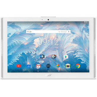 Iconia One 10 B3-A40-K0K2 - Blanc10,1 pouces Wifi 16Go 2 Go Micro SD Android Tablette 16:10 1280 x 800 1,20 GHz MediaTek Bluetooth 4.1 Android 7.0 Nougat IPS 530,0 g MT8167