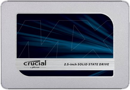MX500 SSD - 500 GoInterne SSD Serial ATA III PC 5 an(s) 555 MBps 515 MBps 500 Go