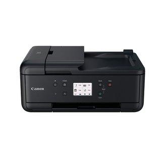 PIXMA TR7550Jet encre A4 multifonctions WiFi Bluetooth USB 2.0 4800 x 1200 dpi 1200 x 2400 dpi 15 ipm en noir et blanc 8 kg 10 ipm en couleurs Jet d'Encre Couleur Multifonction