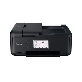 PIXMA TR8550Jet encre A4 multifonctions avec fax WiFi Bluetooth USB 2.0 4800 x 1200 dpi 1200 x 2400 dpi Fast Ethernet 15 ipm en noir et blanc 8 kg 10 ipm en couleurs Jet d'Encre Couleur Multifonction