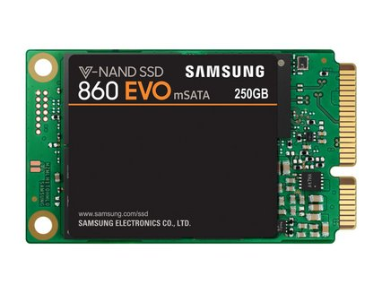 Serie 860 EVO mSATA SSD - 250 GoInterne SSD Serial ATA III PC 550 MBps 520 MBps 5 an(s) 8,5 g 250 Go