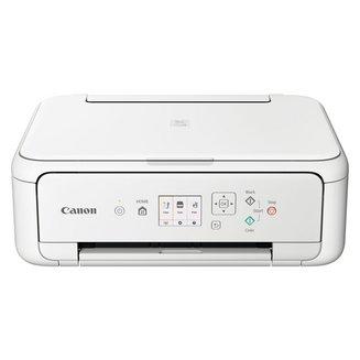 PIXMA TS5151 - BlancJet encre A4 sans fax WiFi Bluetooth USB 2.0 papier ordinaire 4800 x 1200 dpi Mac PC Papier Photo Enveloppe 1200 x 2400 dpi papier glacé Jet d'Encre Couleur Multifonction 16 bit 6,5 kg 13 ipm en noir et blanc 6,8 ipm en couleurs